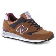 New Balance M577 Tbn Shoes - Brown
