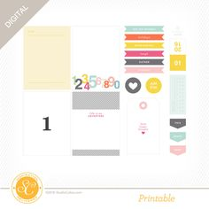 Picture 1 of Arendal Printable Journal Cards by Hello Forever