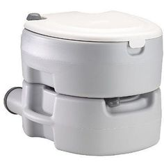 Toilet lets you comfortable relieve yourself, even while on outdoor adventures One-hand flush camping gear features leak-free seats Camping toilet has elongated, contoured seats for ultimate comfort H Camping Stove, Tent Camping, Camping Gear, Outdoor Camping, Glamping, Camping Kitchen, Outdoor Life, Backpacking, Camping Checklist
