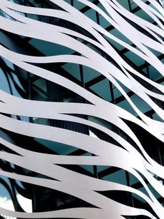 experimentaljs: Waves 1by ~StellaSsj by Japanese architect Toyo Ito (in Passeig de Gracia, Barcelona)