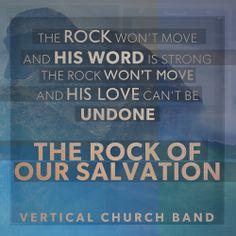 Vertical Church Band - The rock won't move