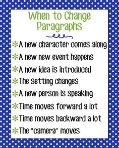 Magic & Markers: Changing Paragraphs for your boy bestfriend Paragraph Writing, Book Writing Tips, Narrative Writing, Writing Lessons, Writing Workshop, Teaching Writing, Writing Activities, Writing Ideas, Informational Writing