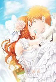 Ichigo Kurosaki x Orihime Inoue - Bleach \ ^^ / Bleach Manga, Bleach Fanart, Bleach Characters, Anime Characters, Kawaii Anime, Ichigo E Orihime, Bleach Pictures, Bleach Couples, Romance