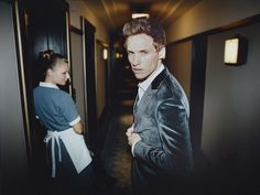 A different perspective: In the accompanying interview, the actor also reveals that he's c...