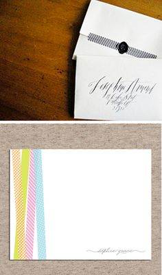 New Crafty Obsession {Washi Tape} | Engaged & Inspired Wedding Planning