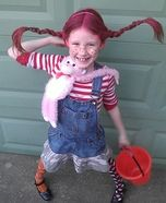 Tons of girl costumes to DIY Pippi Longstocking Costume