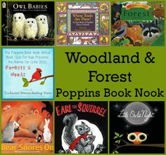 June Poppins Book Nook: Forest & Woodland - Book suggestions for the theme - 3Dinosaurs.com