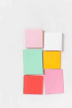 // post it notes color palette Colour Schemes, Color Combos, Textures Patterns, Color Patterns, Palette Pastel, Bright Colour Palette, Colour Palettes, Color Pop, Stoff Design