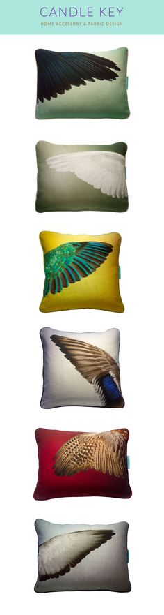 The PLUME Collection. Cushions from Candle Key. Available exclusively from CultureLabel.