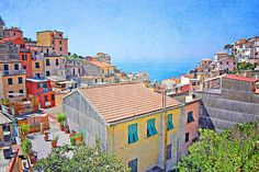 Italy Photography Cinque Terre Decor