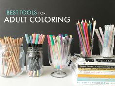 Have you dipped your fingers into the adult coloring trend? Chances are you've heard what a relaxing and fun creative outlet coloring can be. Diy Crafts For Adults, Hobbies And Crafts, Colouring Techniques, Art Techniques, Hobbies For Adults, Coloring Tutorial, Creative Outlet, Coloring Book Pages, Summer Crafts