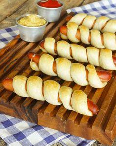 Pinnbröd - korv i bröd - Tidningen Hembakat
