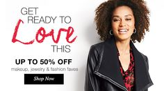 Who doesn't love 50% OFF? #Avon loves it too.  www.youravon.com/lauracarlile