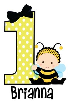 Bumble Bee Birthday T Shirt or Bodysuit Personalized Bee Crafts For Kids, Baby Crafts, Bee Invitations, Bee Drawing, Bumble Bee Birthday, Bee Illustration, Minnie Mouse 1st Birthday, Bee Party, Cute Bee