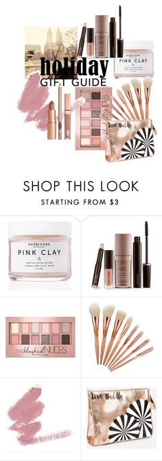 """Beauty Gift Guide"" by kryssik ❤ liked on Polyvore featuring beauty, Herbivore, Laura Mercier, Maybelline, Ashley Stewart and Dolce Vita"