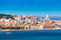 Lisbon Skyline as seen from Almada (Portugal) Copyright  INTERPIXELS