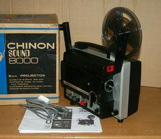 CHINON SOUND 8000 DUEL SUPER 8 / STD 8 CINE MOVIE FILM PROJECTOR FULLY SERVICED  #Yelco Movie Film, Movies, Projector Lens, Projectors, Ebay, Films, Cinema, Movie, Film