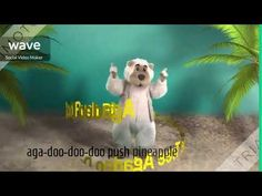 (222) energizer Agadoo bear with lyrics - YouTube