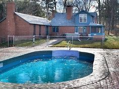 North Conway house rental - Pool North Conway, Home And Away, Swimming Pools, Outdoor Decor, House, Vacation Rentals, Tub, Amazing, Travel