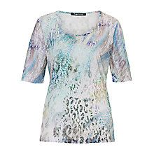 ANother casual/smart option. Buy Betty Barclay Animal Print T-Shirt, Multi Online at johnlewis.com