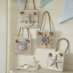 nautical wall plaques, nautical accessories, live laugh love