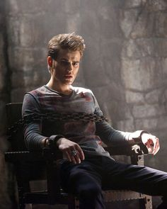 Weaning Stefan Salvatore off of his bloodlust......I love him as the Ripper, really I love him any way.