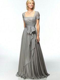Modest dress. a little higher neckline would be great!