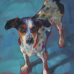 KMSchmidt Dog Paintings