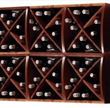 How to build your own wine rack.