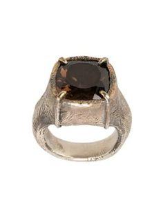 Tobias Wistisen encrusted ring
