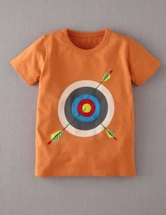 I've spotted this @BodenClothing Summer Sports T-shirt Lava/Target