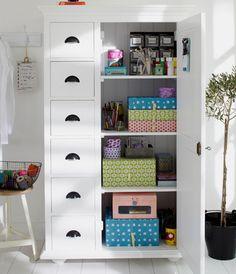 armario para guardar las manualidades