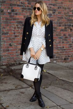 Polka Dot Dress - Gal Meets Glam