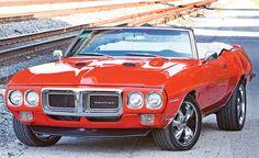 1969 Pontiac Firebird 400 Convertible.