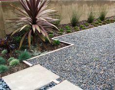 Small Backyard Patio Grill Walkway Ideas | Gravel & stone types for a rockin' landscape