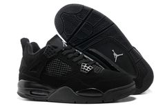on sale 7a6c5 ff7d6 Air jordan 4 black basketball men shoes  80.52 Jordan 4 Black, Air Jordan  Iv,