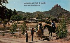 Calamigos Star C Ranch,Malibu,California.