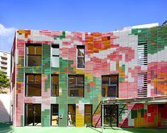 CRECHE 30 BERCEAUX, Paris | Périphériques architectes - Jumeau + Marin + Trottin
