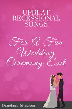 Upbeat Recessional Songs For A Fun Wedding Ceremony Exit — Dancing Brides Wedding Ceremony Exit Songs, Wedding Recessional Songs, Unique Wedding Songs, Country Wedding Songs, Wedding Music, Free Wedding, Wedding Ideas, Trendy Wedding, Wedding Moments