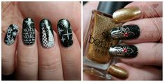 The Polished KOI: Stamping Saturday & HPB Presents: Holiday Nails