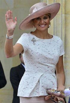 La reina Máxima se prepara para la boda de su hermano menor - ¡HOLA!
