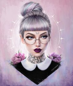 Stay Wild Moon Child by Bizarre Kunst, Character Inspiration, Character Art, Fashion Inspiration, Digital Art Girl, Moon Art, Moon Child, Anime Art Girl, Portrait Art