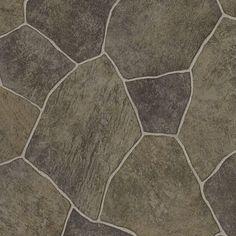 TrafficMASTER Take Home Sample - Natural Paver Vinyl Sheet - 6 in. x 9 in., Natural Paver with Vinyl Wear Layer Vinyl Sheet Flooring, Linoleum Flooring, Bathroom Flooring, Porches, Slate Pavers, Marble Vinyl, Vinyl Style, Luxury Sheets, Vinyl Sheets