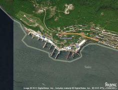 База атомных подводных лодок | Места на карте мира