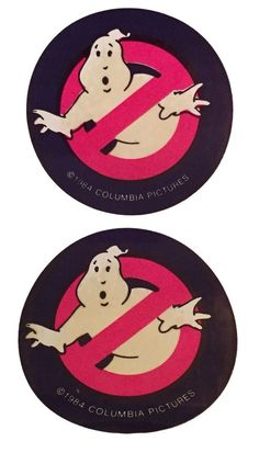 GHOSTBUSTERS PUFFY STICKERS SEALED IN PACKAGE    COLLECTIBLE 1984