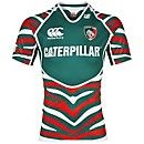 The new Leicester Tigers shirt - yes!   via tigers.co.uk Leicester Tigers, Tiger Home, Tiger Shirt, Football Shirts, Rugby, Scully, How To Wear, Big Cats, Shopping