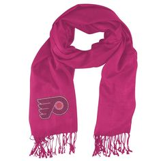 Philadelphia Flyers NHL Pashi Fan Scarf (Pink)