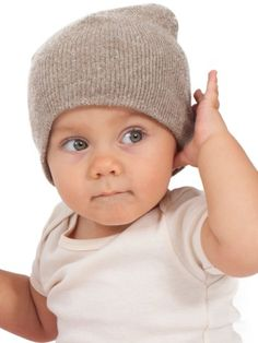 Infant Recycled Cotton Acrylic Beanie | Shop American Apparel $12 neutral boys wear anytime beanie