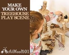DIY Kids: Our Treehouse Play Scene | Childhood101
