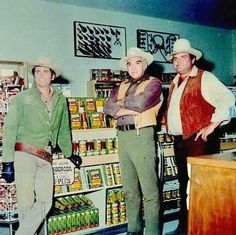 Were there canned goods in the Ponderosa days?